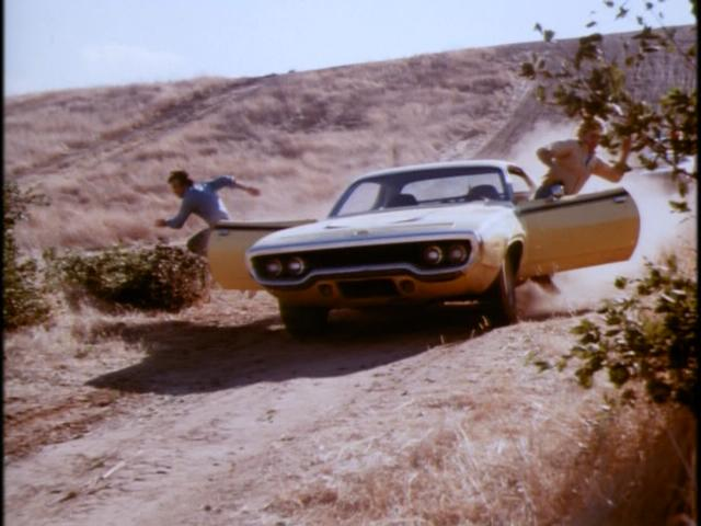 daisy duke's yellow roadrunner
